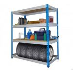 Металлические стеллажи для гаража купить в Красноярске